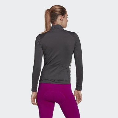 Women Cycling Grey The COLD.RDY Long Sleeve Cycling Jersey