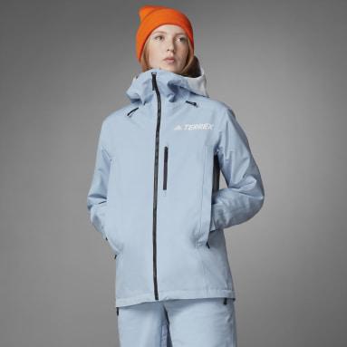 Kvinder TERREX Blå Resort Three-in-One jakke