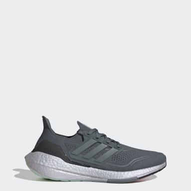 Běh šedá Boty Ultraboost 21