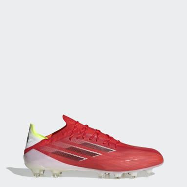 Heren Voetbal Rood X Speedflow.1 Artificial Grass Voetbalschoenen