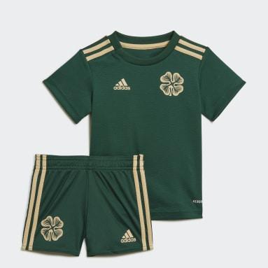 Kinderen Voetbal Groen Celtic FC 21/22 Baby-Uittenue
