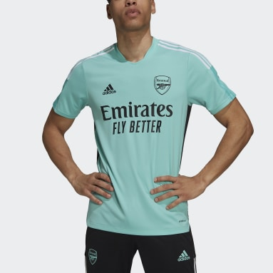Men Football Green Arsenal Tiro Training Jersey