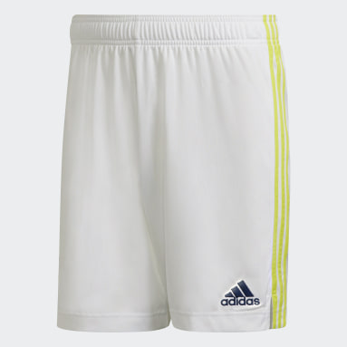 Pantalón corto primera equipación Leeds United FC 21/22 Blanco Fútbol