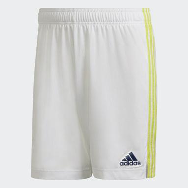 Short Domicile Leeds United FC 21/22 Blanc Football