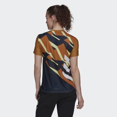 T-shirt Terrex Parley Agravic TR Pro Marron Femmes TERREX