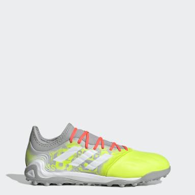 Men's Soccer Grey Copa Sense.3 Turf Shoes