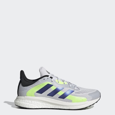 Men's Running Grey SolarGlide 4 ST Shoes