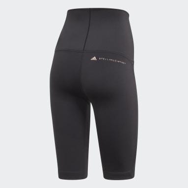 Women Cycling Black adidas by Stella McCartney TruePurpose High-Waist Bike Shorts