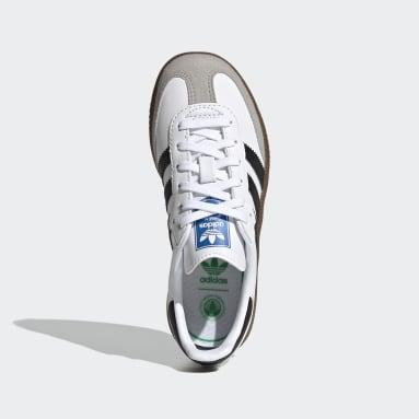 Kids 4-8 Years Originals White Samba OG Shoes