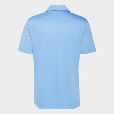 3-Stripes Chest Poloskjorte Blå
