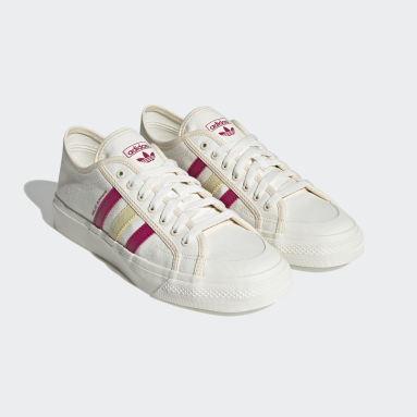 Chaussure Wales Bonner Nizza Lo blanc Originals