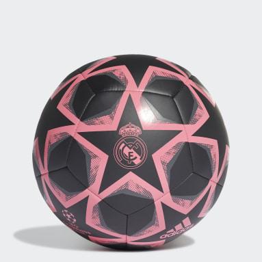 Fotboll Svart Finale 20 Real Madrid Club Ball