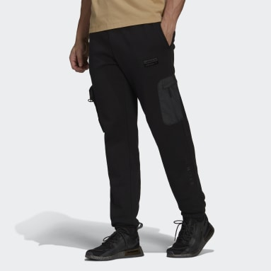 Pantalón R.Y.V. Cuffed Negro Hombre Originals