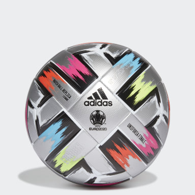 Men Football Silver Uniforia Finale League Ball