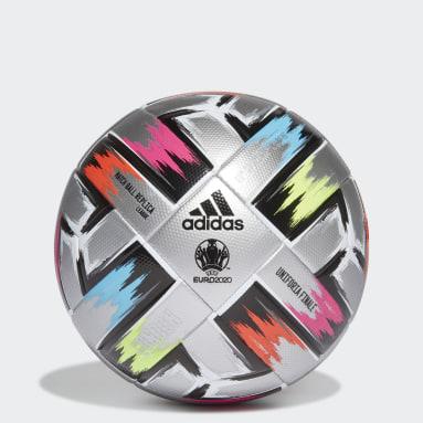 серебряный Футбольный мяч Uniforia Finale League