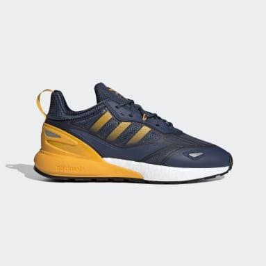 ผู้ชาย Originals สีน้ำเงิน รองเท้า ZX 2K Boost 2.0