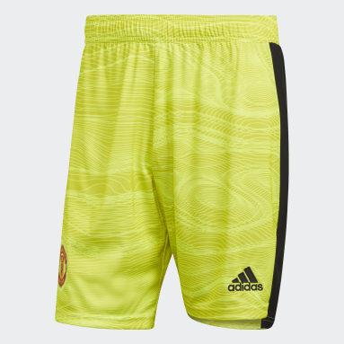 Pantalón corto portero primera equipación Manchester United 21/22 Amarillo Fútbol