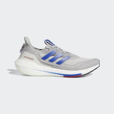 Running Grey Kansas Ultraboost 21 Shoes