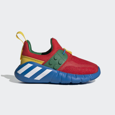 Kinderen Fitness En Training Rood adidas x LEGO® RapidaZen Slip-On Schoenen