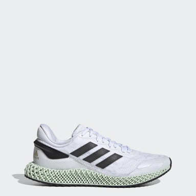 Running White adidas 4D Run 1.0 Shoes
