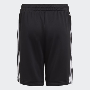 Jongens Fitness En Training Zwart AEROREADY Primegreen 3-Stripes Short