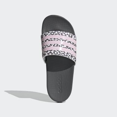 Women's Yoga Grey Adilette Comfort Slides
