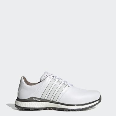 Men Golf White TOUR360 XT-SL 2.0 Spikeless Golf Shoes