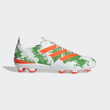 Soccer White Mexico Gamemode Firm Ground Cleats