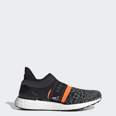 Women Running Black adidas by Stella McCartney Ultraboost 3D Knit Shoes