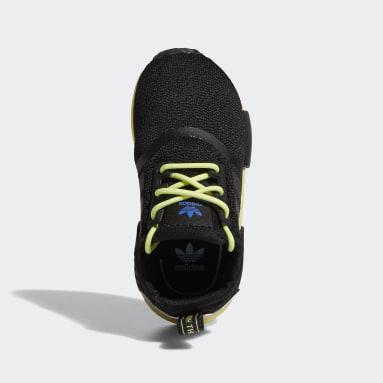 Infant & Toddler Originals Black NMD_R1 Shoes
