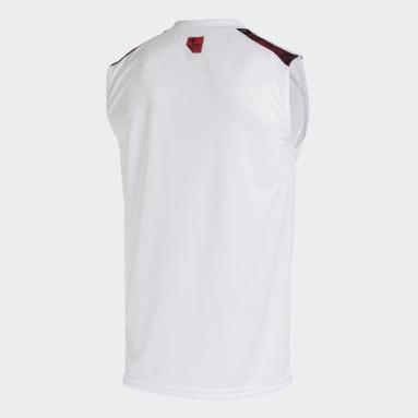 Camisa 2 Sem Mangas CR Flamengo 21 Branco Homem Futebol