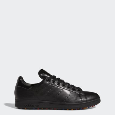 Golf Black Stan Smith Primegreen Limited-Edition Spikeless Golf Shoes