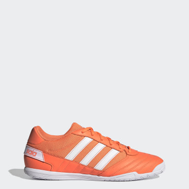 Chaussure Super Sala Orange Hommes Futsal