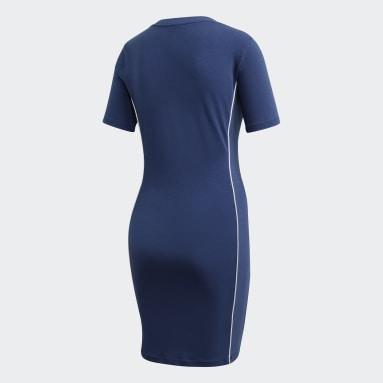 Women Originals Blue Tee Dress