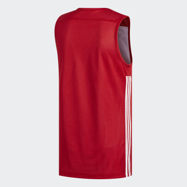 Maillot 3G Speed Reversible Rouge Hommes Basketball
