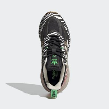 Girls Originals Black ZX 2K Boost 2.0 Shoes