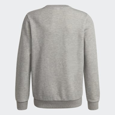 Boys Lifestyle Grey Essentials Sweatshirt