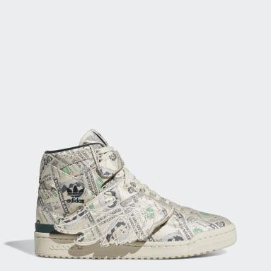 Originals Jeremy Scott Forum Wings 1.0 Money Schuh Beige