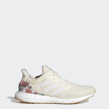 Running White Ultraboost Uncaged LAB Shoes