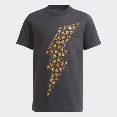 T-shirt Graphic gris Adolescents 8-16 Years Entraînement