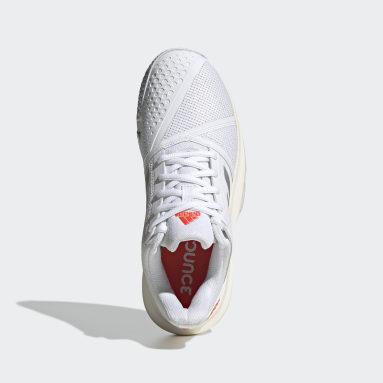 Chaussure CourtJam Bounce blanc Femmes Tennis