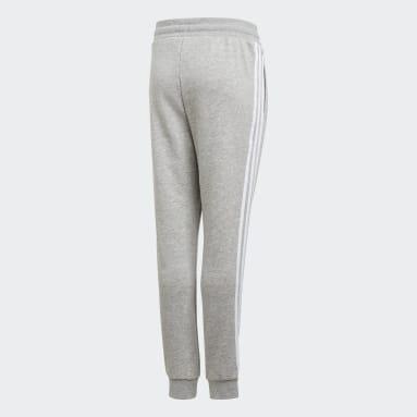 Youth Originals Grey 3-Stripes Pants