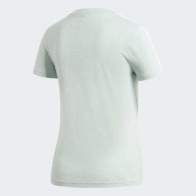 Kvinder Sportswear Grøn Essentials 3-Stripes T-shirt