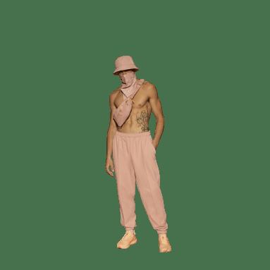 Pantalon de survêtement IVY PARK French Terry (Non genré) Rose Originals