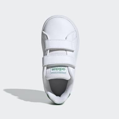 Zapatillas Advantage (UNISEX) Blanco Niño Diseño Deportivo