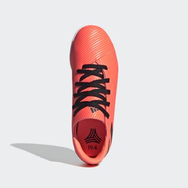 Boys Futsal Orange Nemeziz 19.4 Indoor Boots