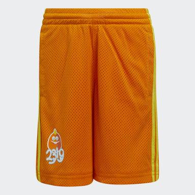 Kids Basketball Orange Little Kids George Sanderson Shorts
