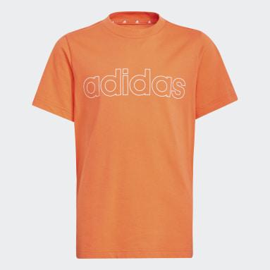 T-shirt Essentials Orange Garçons Sportswear