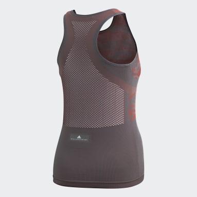 Women adidas by Stella McCartney Grey Essentials Seamless Tank Top