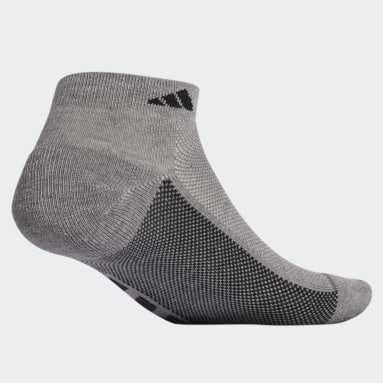 Men's Training Grey Superlite Stripe Low-Cut Socks 3 Pairs